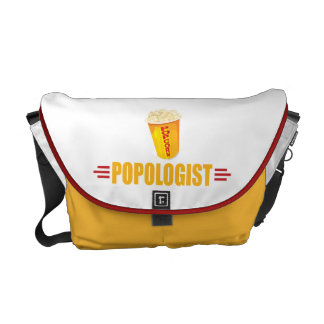 Funny Popcorn Courier Bags