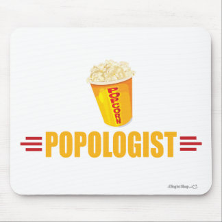 Funny Popcorn Mouse Pad