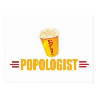 Funny Popcorn Postcards
