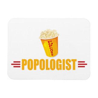 Funny Popcorn Flexible Magnet