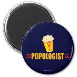 Funny Popcorn Refrigerator Magnets