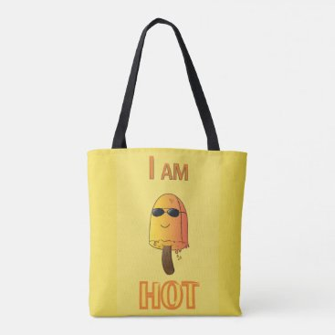 Beach Themed Funny Popsicle Tote Bag