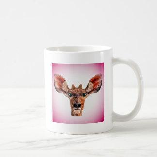 Funny portrait kudu coffee mug