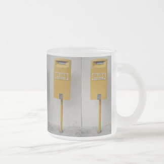 Funny post of Vatican Frosted Glass Coffee Mug