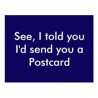 Funny Postcard