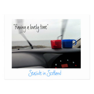 Funny Postcard from Scotland