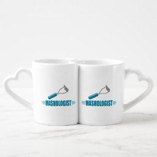Funny Potato Masher Coffee Mug Set