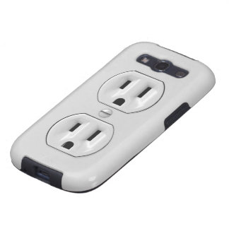 Funny Power Outlet Samsung Galaxy S3 Cover
