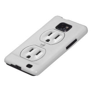 Funny Power Outlet Galaxy S2 Covers