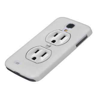 Funny Power Outlet Samsung Galaxy S4 Covers