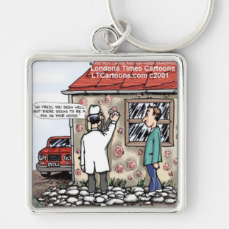 Funny Pox On Your House Keychain