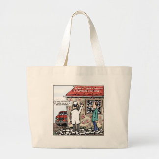 Funny Pox On Your House Large Tote Bag