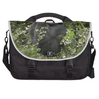 funny praying mountain gorilla :-) commuter bags