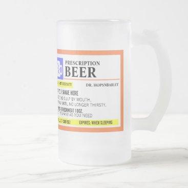 reflections06 Funny Prescription Beer Mug