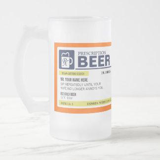 Funny Prescription Beer Mug