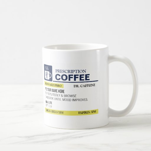 Funny prescription coffee mug - Funny coffee thermos ...