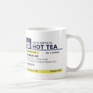 Funny Prescription Hot Tea Coffee Mug
