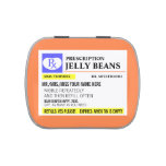 Funny Prescription Jelly Bean Jelly Belly Tins<br><div class='desc'>For medicinal purposes only,  of course.</div>