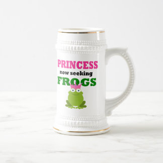 Funny Princess Beer Stein