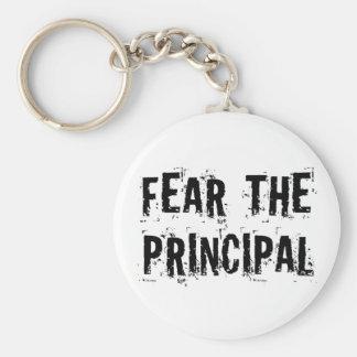 Funny Principal Basic Round Button Keychain