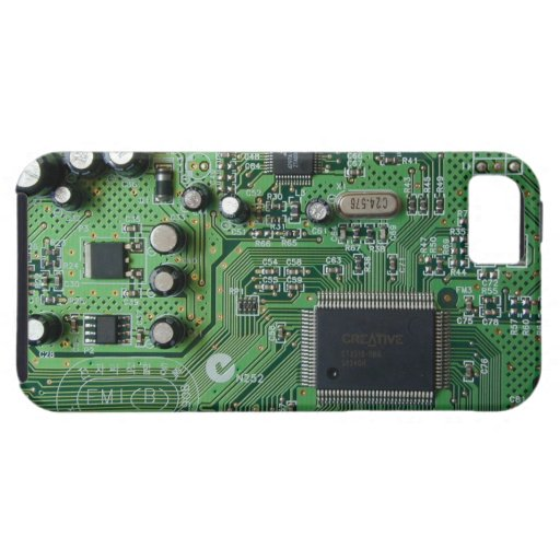 Funny Printed Circuit Board PCB design iPhone 5 iPhone 5 Case