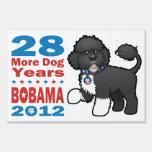 Funny Pro Bo Obama 2012 Sign
