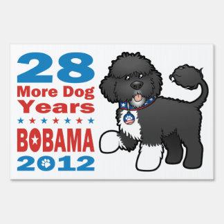 Funny Pro Bo Obama 2012 Yard Sign
