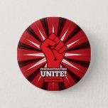 Funny: Procrastinators Unite! (Tomorrow) Button