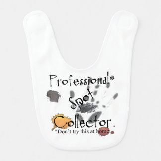 Funny Professional Spot Collector Baby Bib
