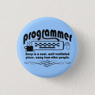 Funny Programmer Button