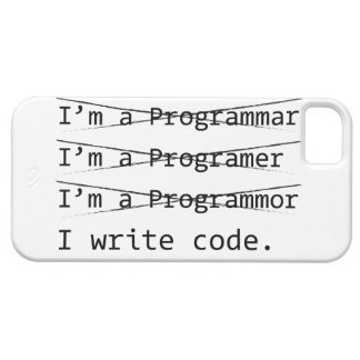 Funny Programmer iPhone 5 Cases