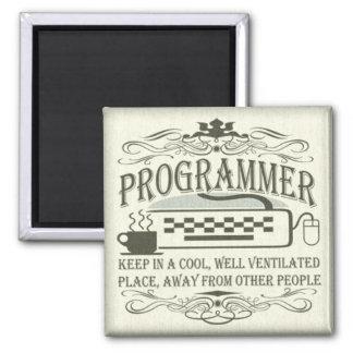 Funny Programmer Magnet