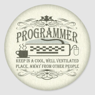 Funny Programmer Stickers