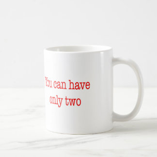 Funny Project Management Saying Fast Cheap Good Coffee Mug