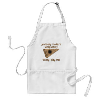 funny psaltery adult apron