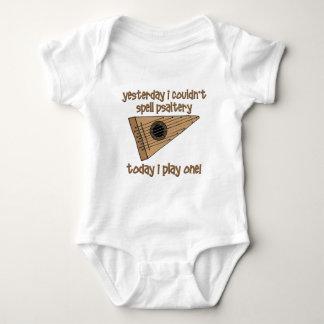 funny psaltery baby bodysuit