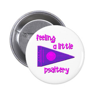 Funny Psaltery Button