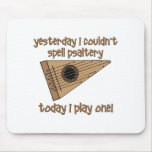 funny psaltery mouse pads