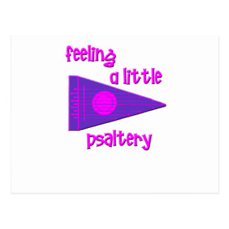 Funny Psaltery Postcard