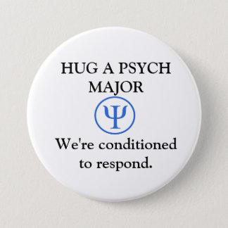 Funny Psych Major Button