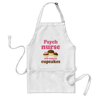Funny Psych Nurse Adult Apron