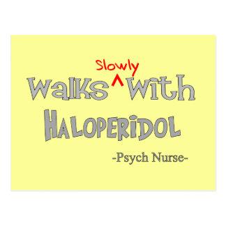 Funny Psych Nurse Gifts Postcard