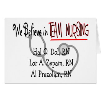 Funny Psych Nurse T-Shirts and Gifts Card