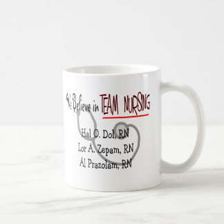 Funny Psych Nurse T-Shirts and Gifts Mug