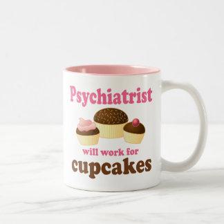 Funny Psychiatrist Two-Tone Coffee Mug