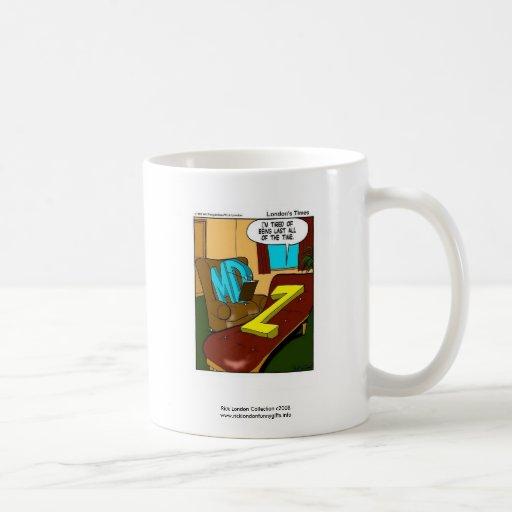 Funny Psychiatry Cartoon On Quality Coffee Mug Coffee Mugs