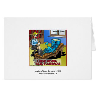 Funny Psychiatry Greeting Card Greeting Cards