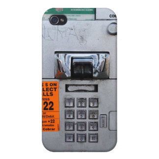 Funny Public Pay Phone Booth 7/11 iPhone 4 Cases