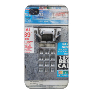 Funny Public Pay Phone Booth Covers For iPhone 4