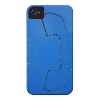 Funny Public Pay Phone Booth Silhouette Case-Mate iPhone 4 Case